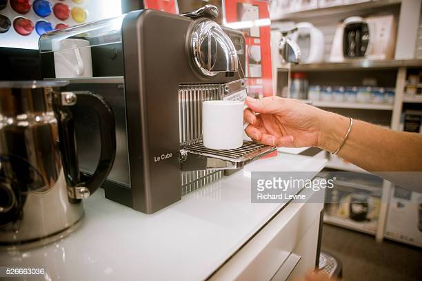 new nespresso machine stock photos and pictures getty images