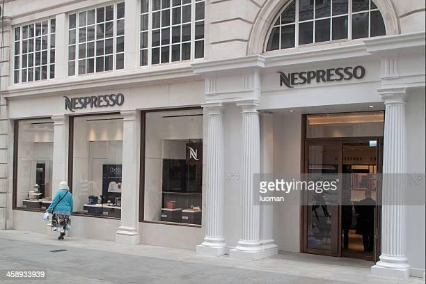 Nespresso shop in London