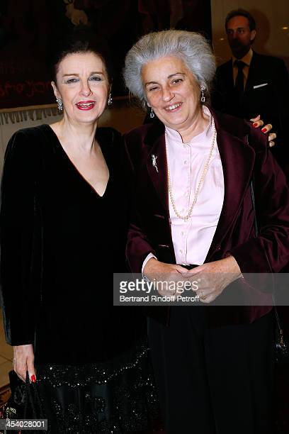 Nesrine Toussoun and Conservative Heritage Sylvie Patin attending the celebration of 26 Years of Russian French Friendship by the 'Association of the...