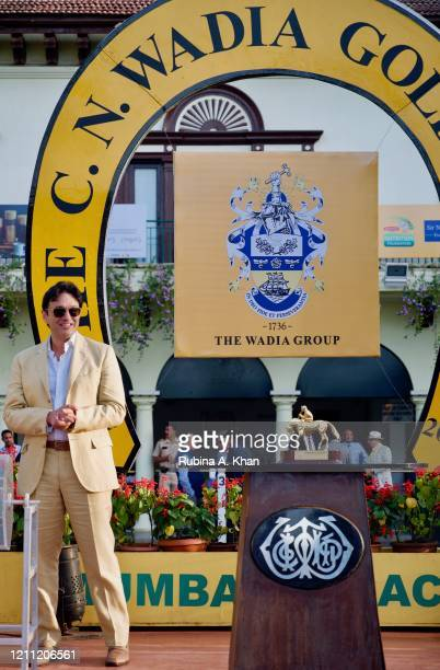 Ness Wadia at the CN Wadia Gold Cup 2020 Race Day at the Royal Western India Turf Club on March 08, 2020 in Mumbai, India.