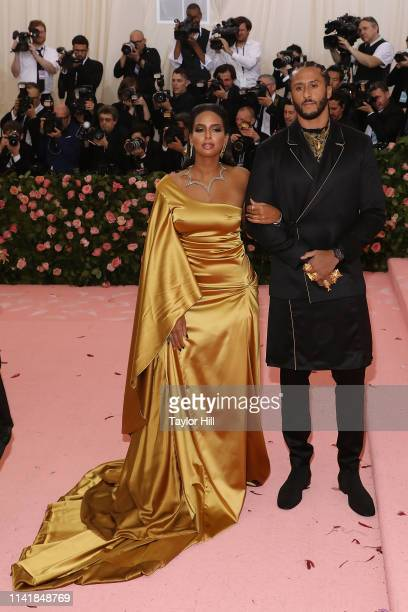 Nessa Diab and Colin Kaepernick attend the 2019 Met Gala celebrating Camp Notes on Fashion at The Metropolitan Museum of Art on May 6 2019 in New...