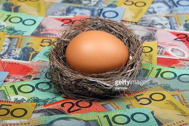 Nest Egg in Australian Cash