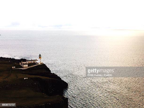 Nest Point Lighthouse On The Isle Of Skye