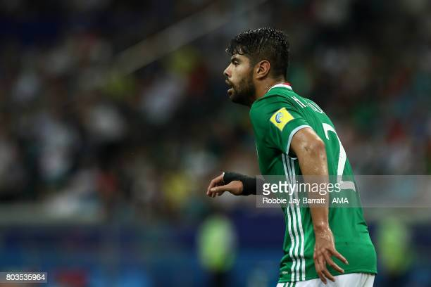 Nestor Araujo of Mexico looks on during the FIFA Confederations Cup Russia 2017 SemiFinal match between Germany and Mexico at Fisht Olympic Stadium...
