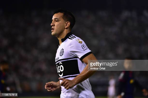 Nestor Camacho Ledesma of Olimpia during a round of sixteen second leg match between Olimpia and LDU Quito as part of Copa CONMEBOL Libertadores 2019...