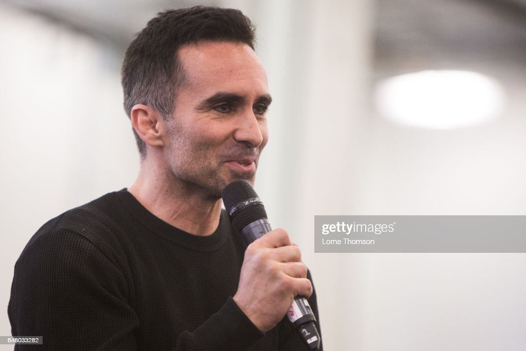Nestor Carbonell is interviewed on day one of the 'Walker Stalker' convention at London Olympia on March 4, 2017 in London, United Kingdom.