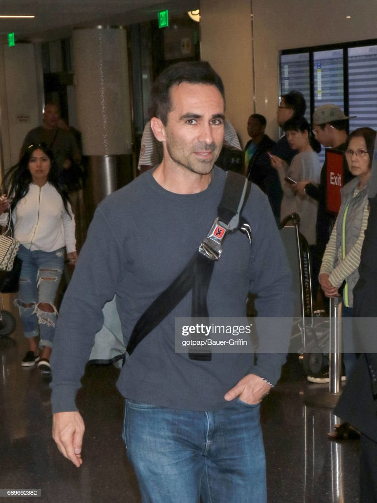 Nestor Carbonell is seen at Los Angeles International Airport on May 28, 2017 in Los Angeles, California.