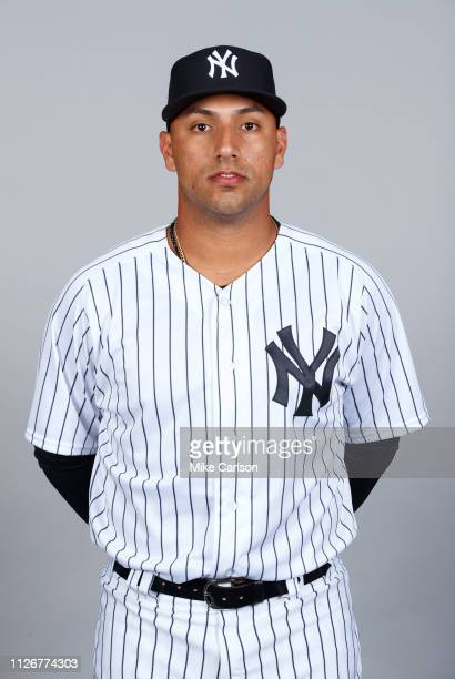 Nestor Cortes Jr #76 of the New York Yankees poses during Photo Day on Thursday February 21 2019 at George M Steinbrenner Field in Tampa Florida