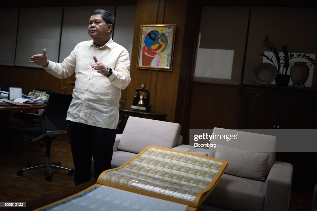 Philippines Central Bank Governor Nestor Espenilla Interview