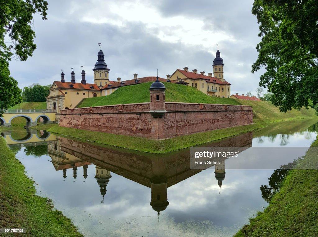 Nesvizh or Niasvizh Castle, Unesco world heritage site, Belarus : Stockfoto