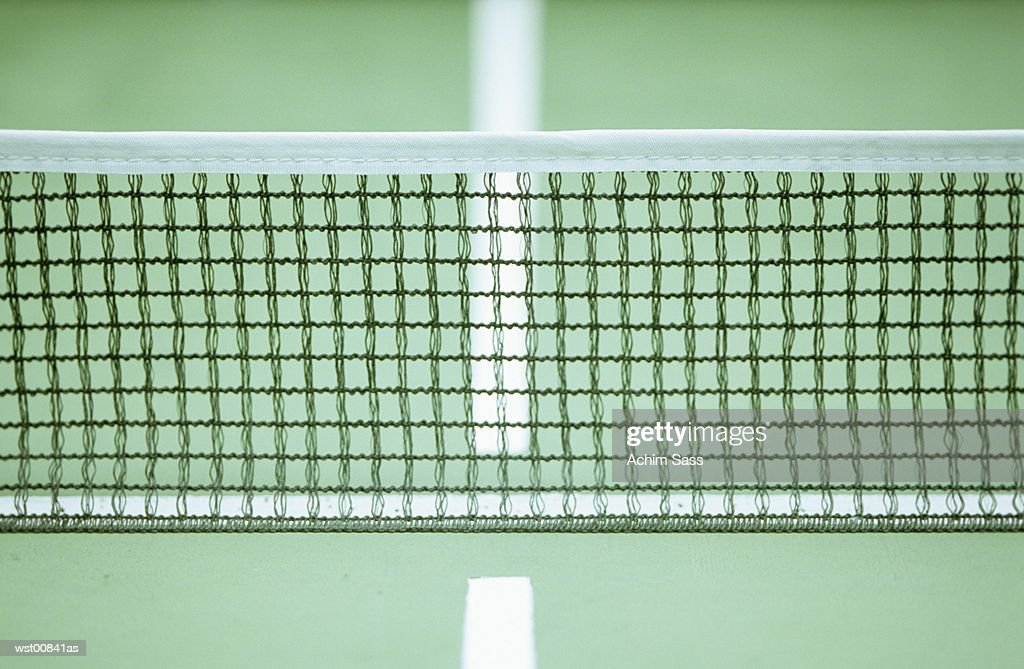 Net, close up : Foto de stock