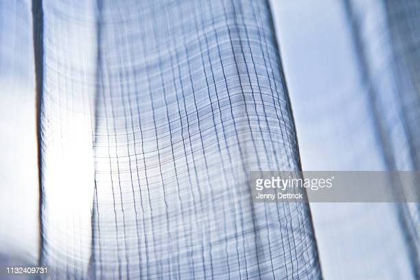 net curtain - translucent stock pictures, royalty-free photos & images