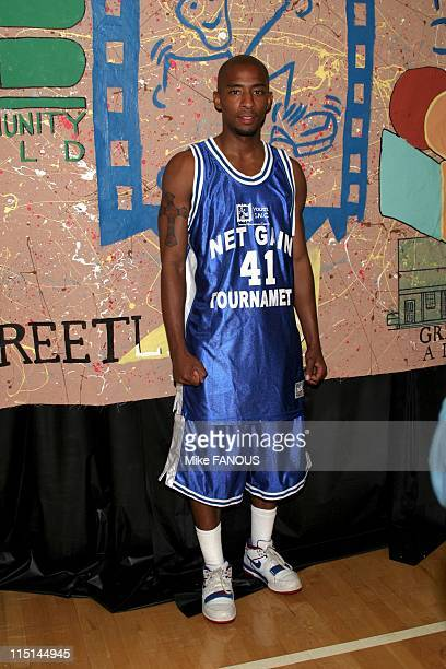 Net Gain' Celebrity Basketball Game To Benefit Los Angeles Kids in Santa Monica United States on October 17 2004 Antwon Tanner who plays 'Worm' in...
