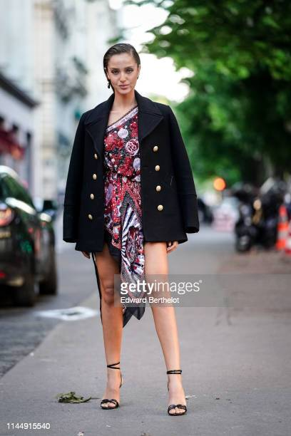 Neta Alchimister attends the Scandal A Paris JeanPaul Gaultier's New Fragance Launch Dinner Party At Lassere on April 24 2019 in Paris France