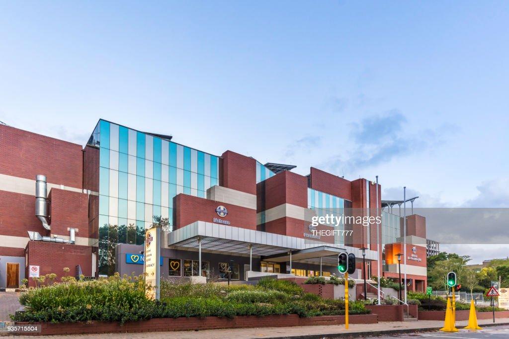 Netcare hospital in Rosebank, Johannesburg : Stock Photo