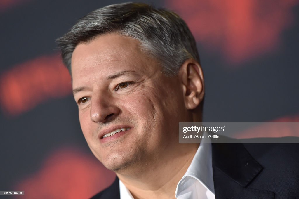 Netflix CCO Ted Sarandos arrives at the premiere of Netflix's 'Stranger Things' Season 2 at Regency Bruin Theatre on October 26, 2017 in Los Angeles, California.