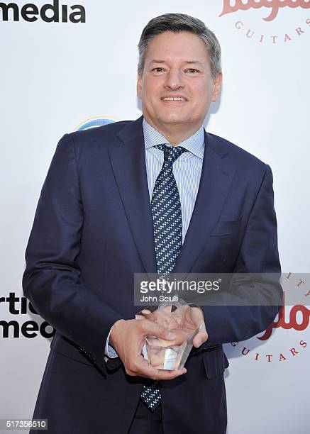 Netflix CCO Ted Sarandos attends UCLA Institute of the Environment and Sustainability annual Gala on March 24 2016 in Beverly Hills California