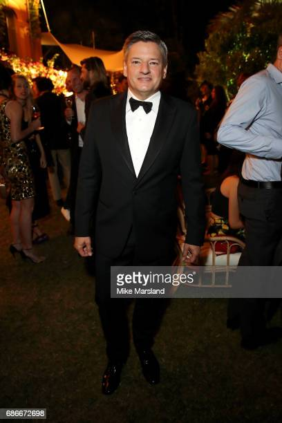 Netflix CEO Ted Sarandos attends the Netflix party during the 70th annual Cannes Film Festival at on May 21 2017 in Cannes France