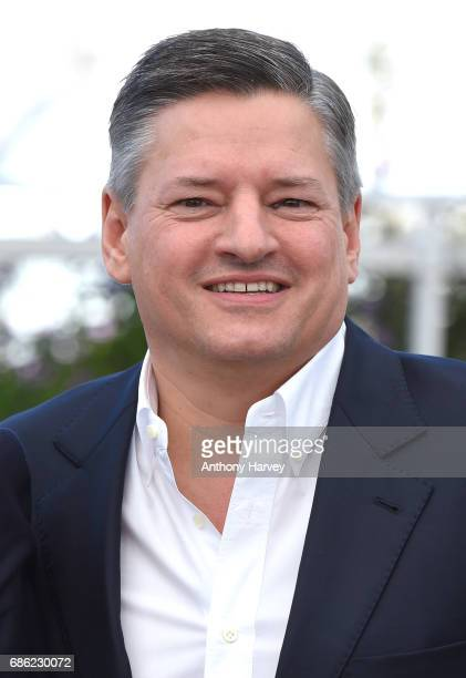 Netflix CEO Ted Sarandos attends the 'The Meyerowitz Stories' Photocall during the 70th annual Cannes Film Festival at Palais des Festivals on May 21...