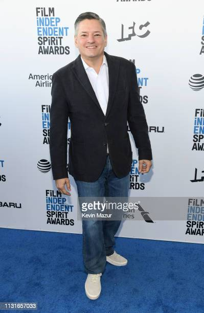 Netflix Chief Content Officer Ted Sarandos attends the 2019 Film Independent Spirit Awards on February 23 2019 in Santa Monica California