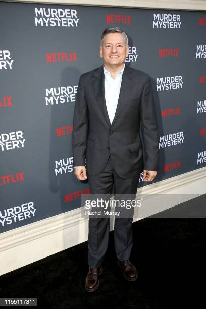 Netflix Chief Content Officer Ted Sarandos attends the Netflix World Premiere Of Murder Mystery at Village Theatre Westwood on June 10 2019 in Los...