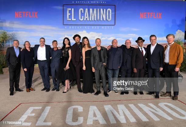 Netflix Chief Content Officer Ted Sarandos Netflix VP of Original Content Cindy Holland Vince Gilligan Charles Baker Krysten Ritter Matt Jones Betsy...