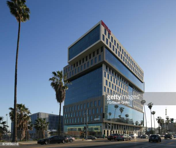 Netflix Headquarters in Hollywood, originally one floor, they now lease the entire building located on Sunset Boulevard on May 01, 2017 in Los...