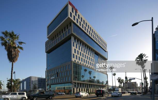 Netflix Headquarters in Hollywood originally one floor they now lease the entire building located on Sunset Boulevard on May 01 2017 in Los Angeles...