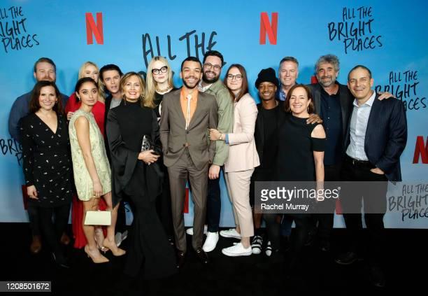 Netflix Manager Original Independent Film Sean Berney Kimi Armstrong Stein Virginia Gardner Sofia Hasmik Felix Mallard Jennifer Niven Elle Fanning...