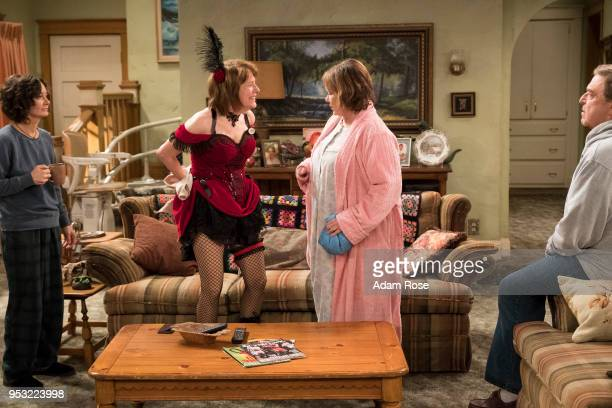 ROSEANNE 'Netflix Pill' After celebrating their 45th anniversary Roseanne reveals to Dan a bigger problem with her bad knee Meanwhile Crystal...