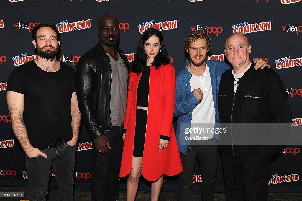 Marvel's Iron Fist NYCC : Foto jornalística