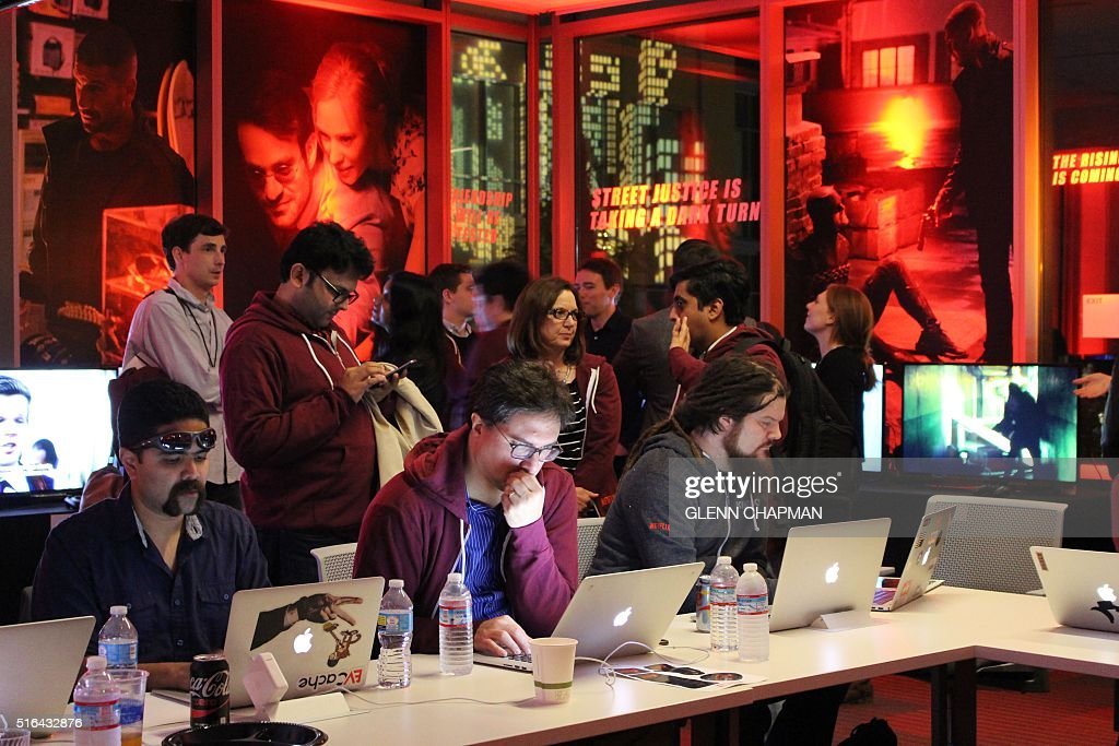 Netflix staff in the war room ready for the launch of the second ...