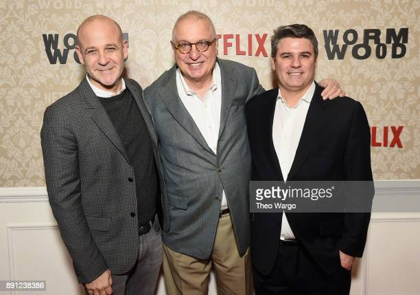 Netflix Vice President Original Series Peter Friedlander Director Errol Morris and attend Director Original Documentary Programming at Netflix Adam...
