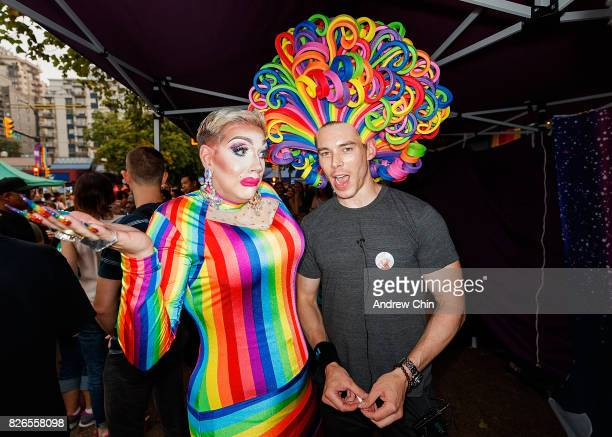 Netflix's Sense8 cast Brian J Smith attends Davie Street Block Party on August 4 2017 in Vancouver Canada