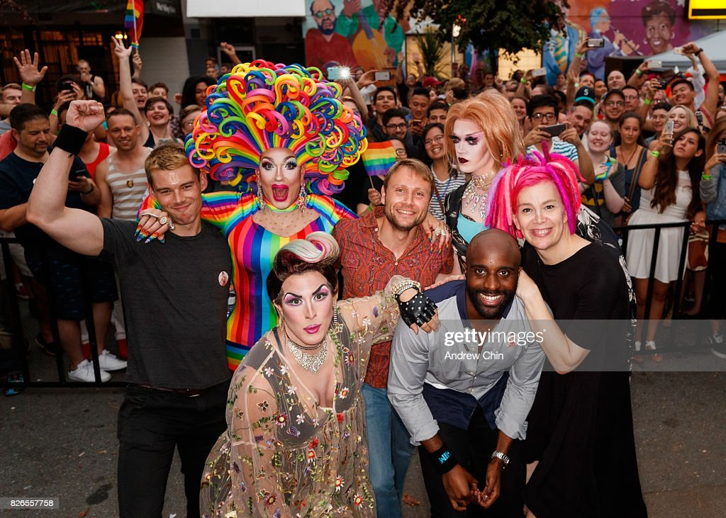 "Netflix's ""Sense8"" Cast Attends Davie Street Block Party : News Photo"