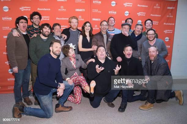 Netflixs Ted Sarandos Domhnall Gleeson Screenwriter John Aboud Matt Walsh Screenwriter Michael Colton Rick Glassman Producer Peter Principato John...