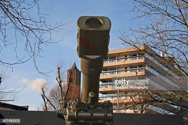 netherlands: airborne monument in arnhem - arnhem stockfoto's en -beelden