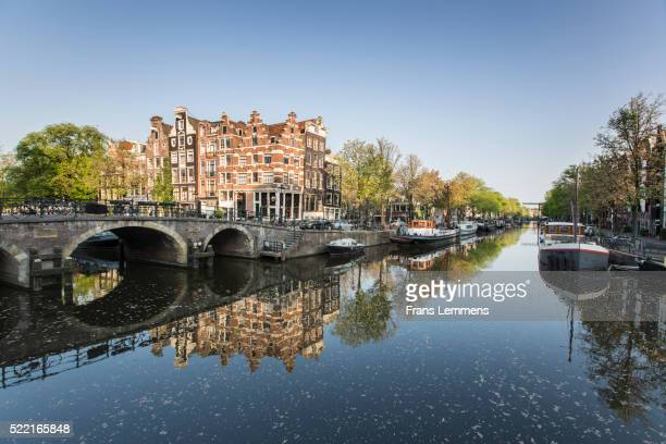 Netherlands, Amsterdam, Brouwersgracht Canal
