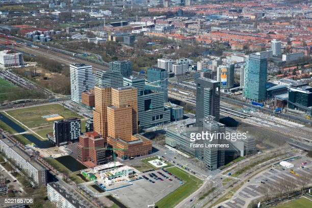Netherlands, Amsterdam, Financial Center Zuid-As