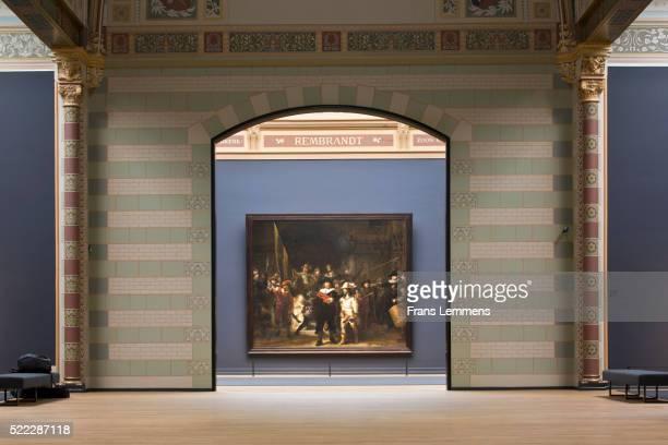 Netherlands, Amsterdam, Rijksmuseum, Night Watch