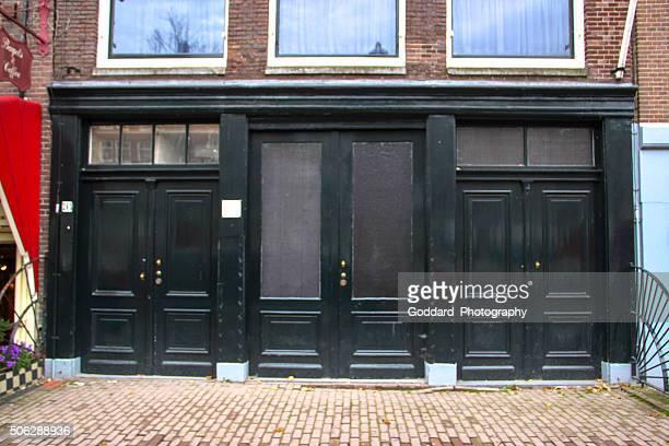 paesi bassi: la casa di anna frank, amsterdam - anna frank foto e immagini stock