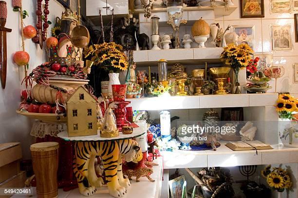 ANT Netherlands Antills Curacao Willemstad A Santeria or VoodooAltar