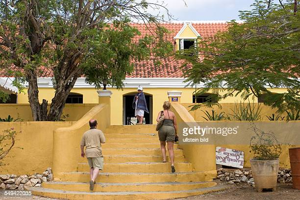 ANT Netherlands Antills Curacao Willemstad Country house Knip where the the slave Tula who fighted against the slavery and was killed/beheaded by the...