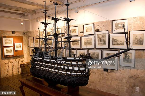 ANT Netherlands Antills Curacao Willemstad The Kurá Hulanda museum shows the development of the slave trade