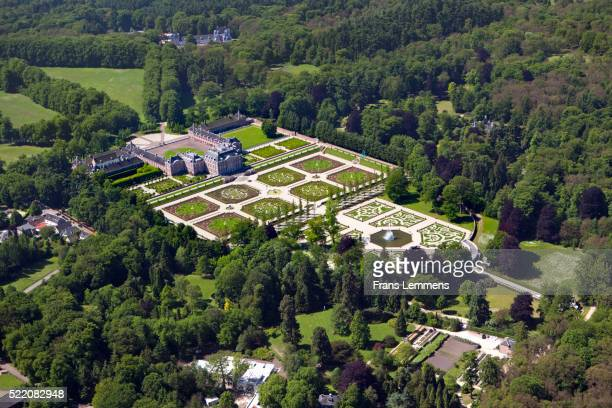 netherlands, apeldoorn, royal palace het loo - apeldoorn foto e immagini stock