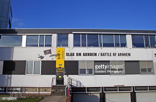 netherlands: battle of arnhem information centre - arnhem stockfoto's en -beelden