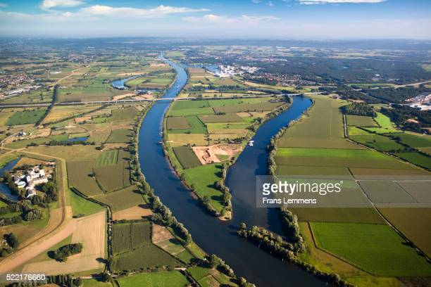 Netherlands, Boxmeer, Maas River