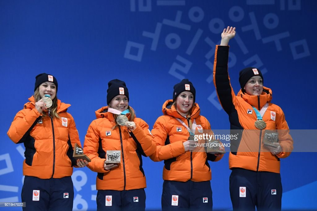 SHORT TRACK-OLY-2018-PYEONGCHANG-MEDALS : News Photo