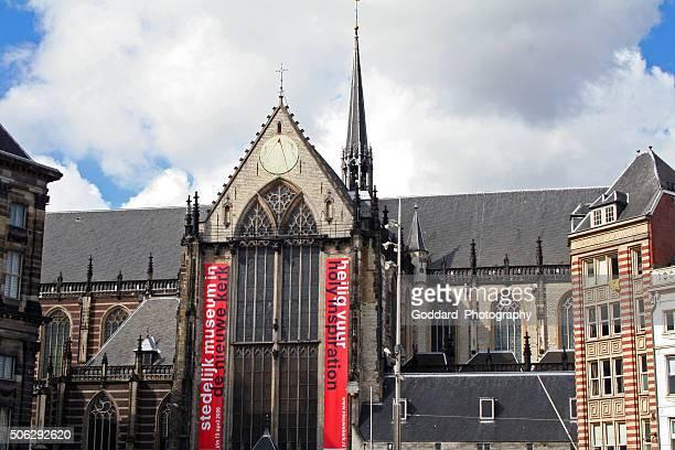 オランダ):デアムステルダムの新教会 - デルフトの新教会 ストックフォトと画像
