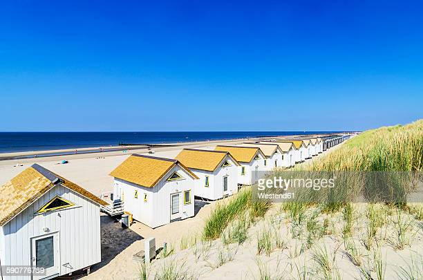 Netherlands, Domburg, beach houses